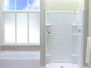 Install One Shower Stall by Installing Shower Bases Bath Shower Stalls