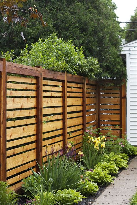 fence ideas for large yard if we to re build our fence this style is awesome our yard in 2019