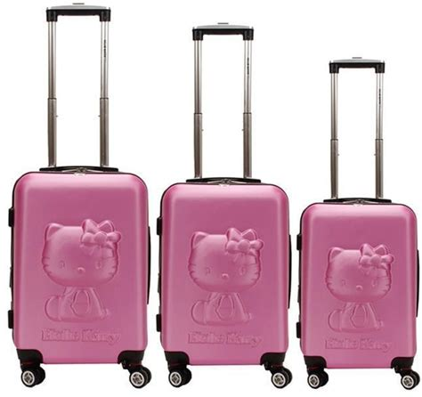 Koper Hello Hello Luggage new hello luggage pearl pink suitcase 24 quot rolling