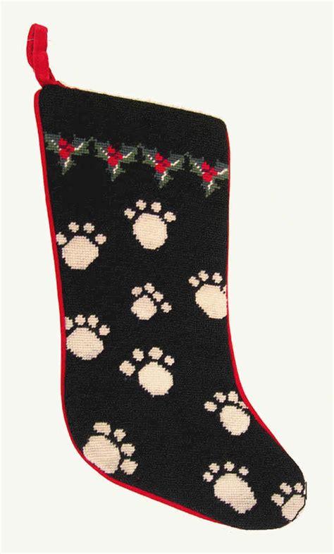 dog bones christmas stocking  dogs   dog breed holiday stockings