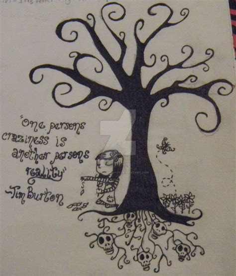 tim burton tree tattoo www pixshark com images