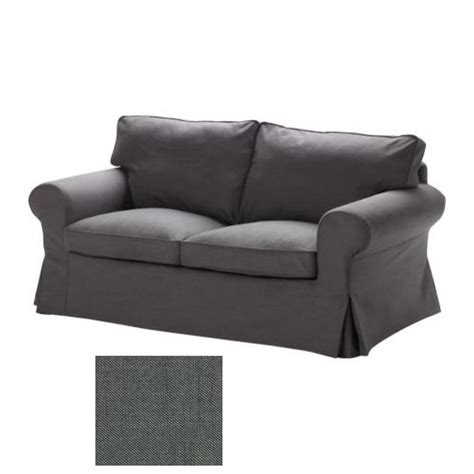 gray slipcover loveseat ikea ektorp 2 seat sofa slipcover loveseat cover svanby