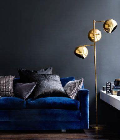 deep blue velvet sofa product detail h m nl home my living room