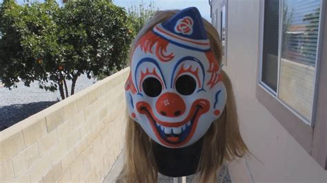 How To Make A Clown Mask Out Of Paper - mikey clown mask