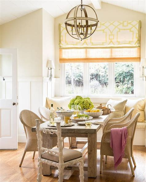 Dining Room Window Seat by Cottage Dining Room With Window Seat Banquette Cottage