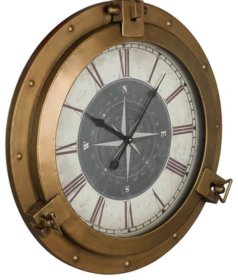 houzz clocks cooper classics celestyn clock view in your room houzz