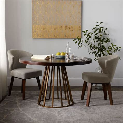 west elm dining room table addison round dining table west elm