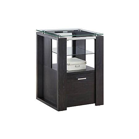 whalen jasper l desk espresso whalen jasper collection file pier 30 h x 22 w x 19 d