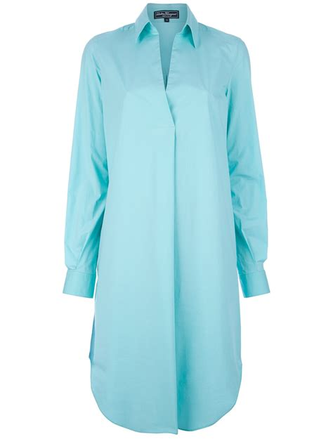 womens dress shirts salvatore ferragamo women s oversized shirt dress dawoob