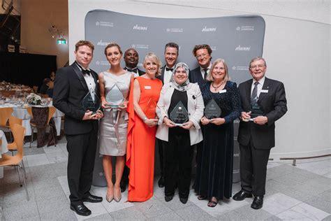 Mba Awards 2017 Canberra Winners by Accomplished Uc Alumni Awarded Distinguished Honour