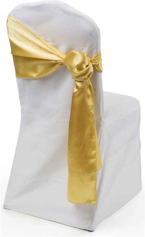 Gold Sashes For Chairs by Satin Chair Sashes 12 X 108 Gold Wedding Linens