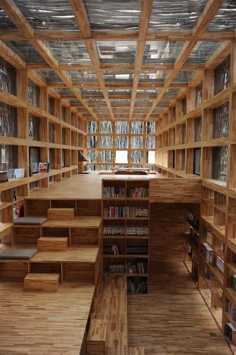 design online library wood liyuan library design by li xiaodong atelier