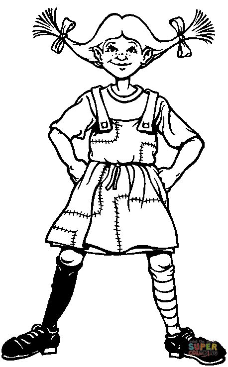 cars pippi s coloring pages pippi longstocking coloring online