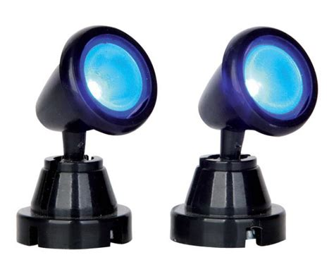 lemax lights spot light blue set 54945 lemax ehobbytools