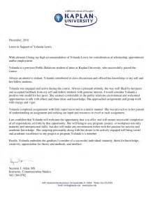 professors reference letter