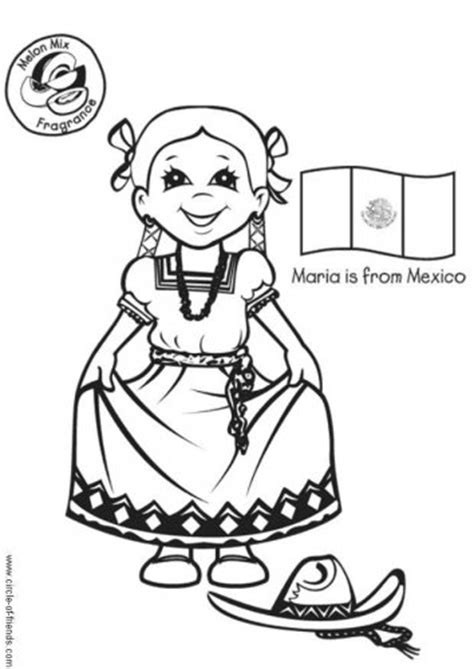 mexican dresses coloring pages free coloring pages of mexico dress