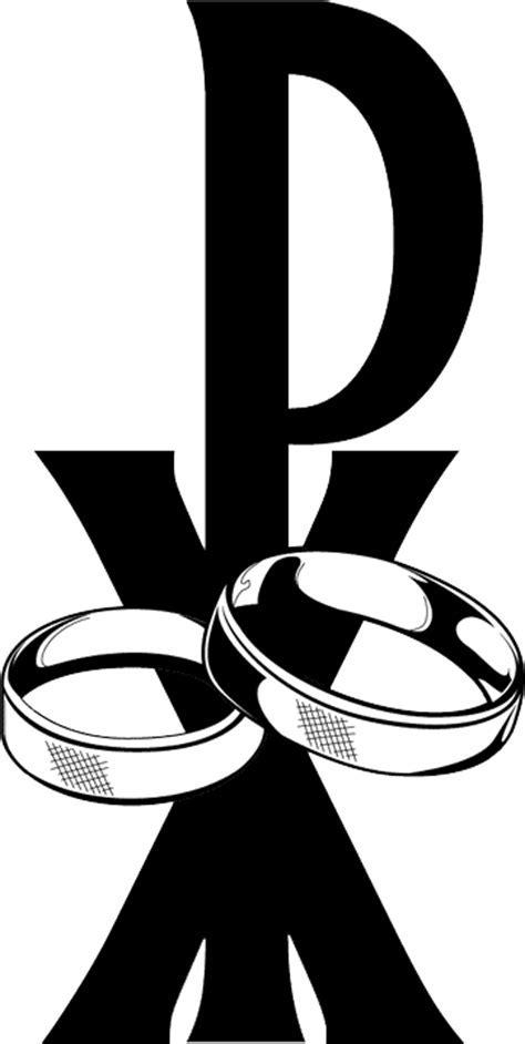 Catholic wedding clipart clipart image #40232