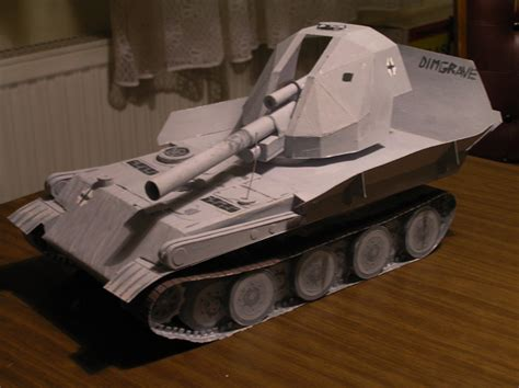 How To Make A Tank Out Of Paper - paper tank contest tanks world of tanks media best