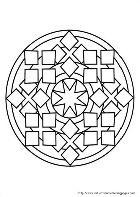 Mandalas Coloring Pages Free For Kids Mandala Coloring Pages For Boys Printable