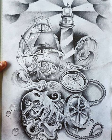 1000 ideas about ship tattoos on pinterest nautical