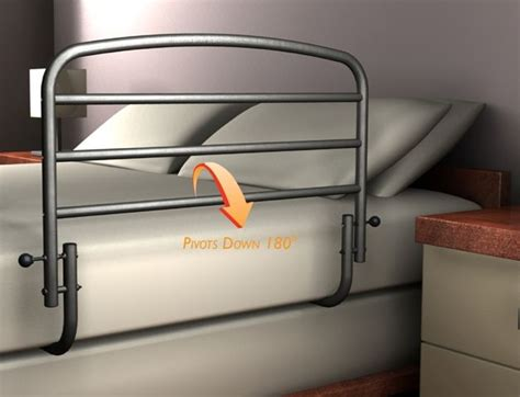 safety rails for bed 30 inch safety bed rail by stander bed rail hand rail
