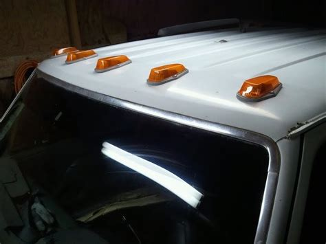 How To Install Cab Lights by How To Install Led Truck Roof Cab Lights