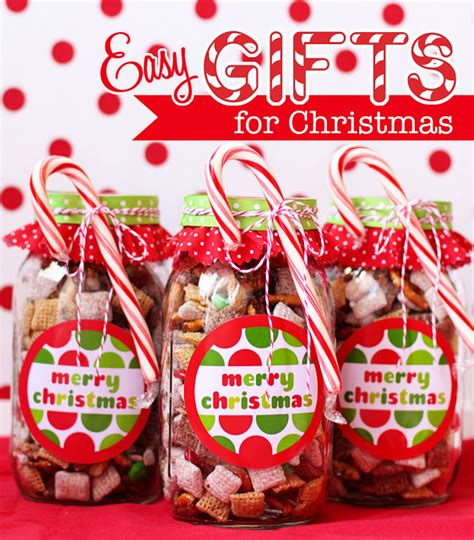 12 easy christmas treat gift ideas and printables
