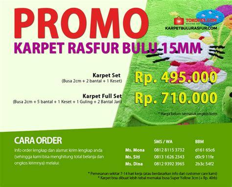 Sajadah Bulu Rasfur Premium karpet rasfur set murah grosir eceran