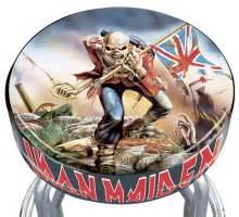 Iron Maiden Bar Stool iron maiden rotating bar stool by elijah williams at