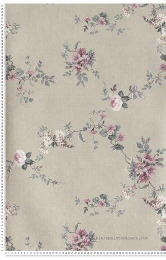 tapisserie a peindre papier peint classique anglais roses fleurs papier peint