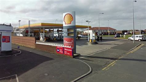 Local Shell Garage by News Fleetwood Petrol Station Robbery Four Charged