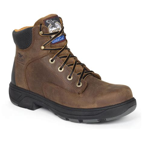 s 174 flx point waterproof work boots brown