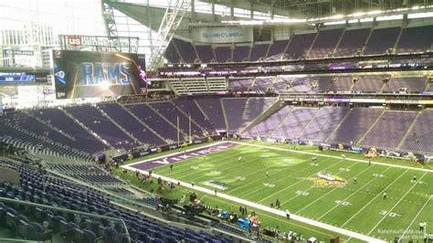 ultimate fan zone us bank stadium u s bank stadium section 231 rateyourseats com