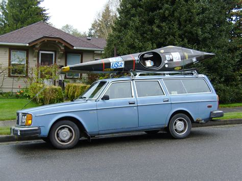 blue volvo station wagon the joys of a 30 year old car usa c 1
