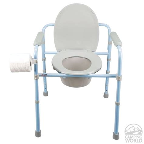 Toilet Portable Deluxe Plus deluxe folding commode toilets shopping and cing world