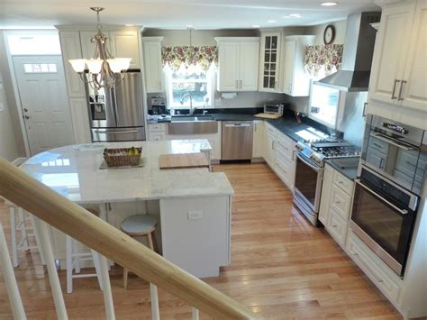 charming cape cod renovation traditional kitchen design