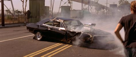 Fast Furious Doms Dodge Charger Romans Chevy image dom s wrecked charger tfatf jpg the fast and
