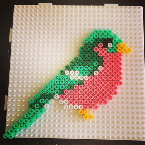 hama birds bird hama by sarawibbsdesign アイロンビーズ