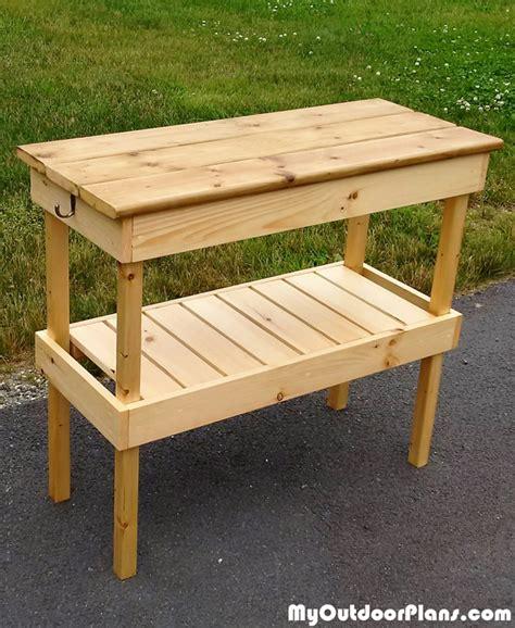 diy grill table plans diy bbq table myoutdoorplans free woodworking plans