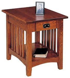 Woodworking Plans Mission End Table mission end table plans diywoodtableplans