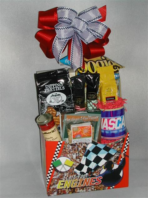 nascar lovers gift basket