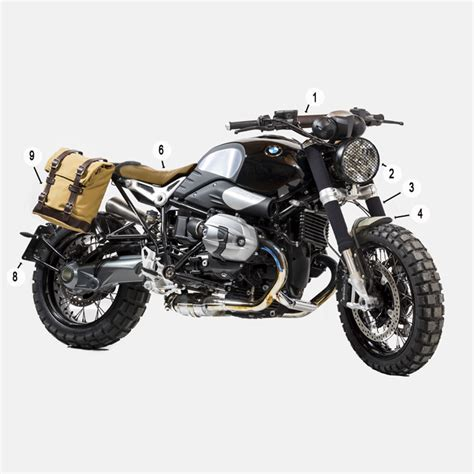 unit garage kit bmw r nine t 1660 motostorm