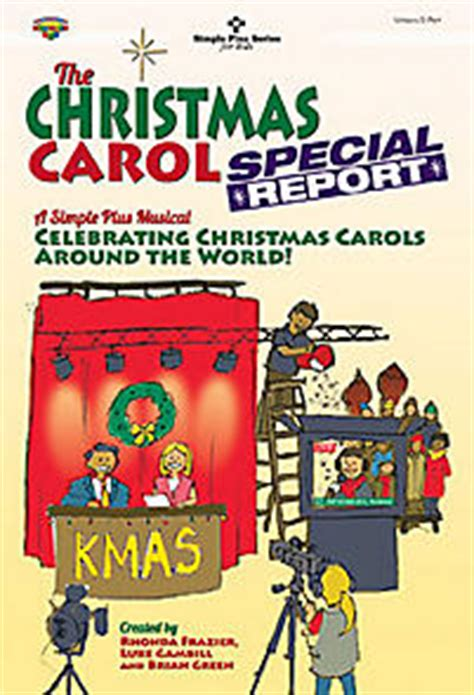 carol book report the carol special report choral book frazier