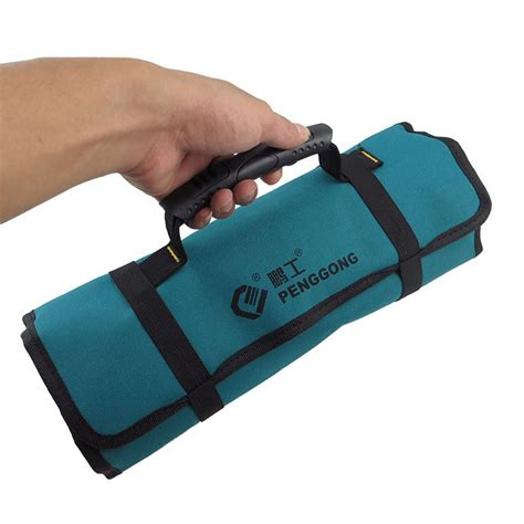 Roll On Pouch Slot 3 new pockets hardware roll tool bag plier screwdriver spanner carry holder pouch