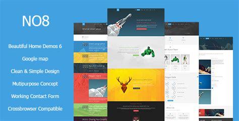 Mythemeshop Report V1 1 8 no8 html v1 0 creative agency portfolio theme premium