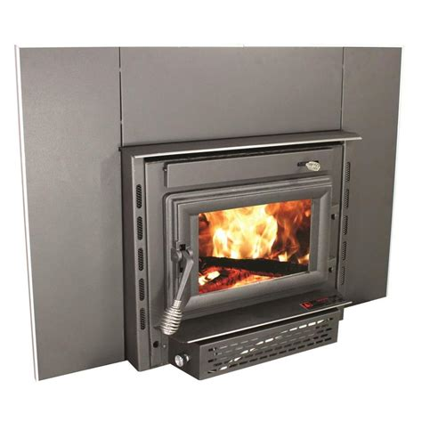 shop vogelzang 1800 sq ft wood stove insert at lowes