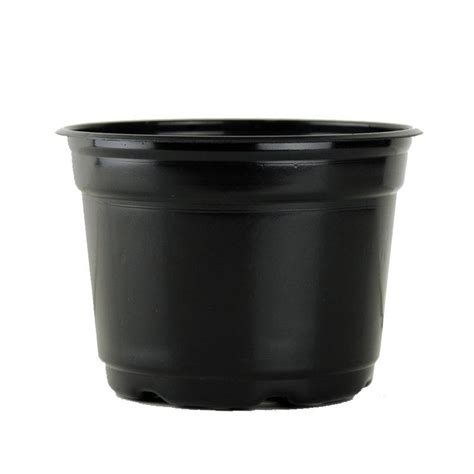 Plastic Planter Pots by Plastic Planter 5 Quot Black