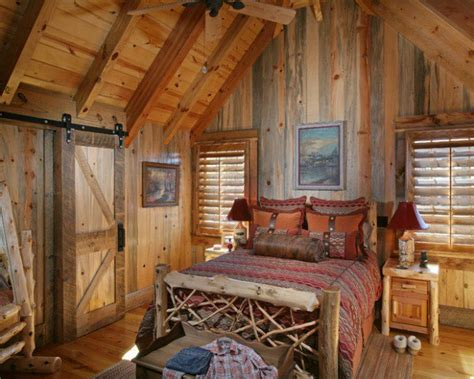 Log Home Bedroom Decorating Ideas 17 Cozy Rustic Bedroom Design Ideas Style Motivation