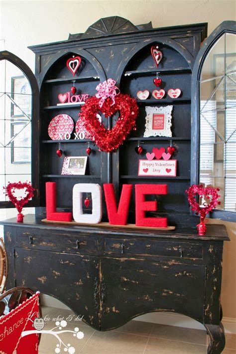 love this hutch for the home pinterest decorations for a valentine hutch valentine s day