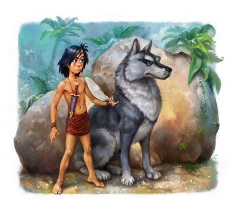 fawn island books mowgli illustrations for the quot dreamsland quot book the